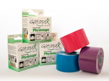 Gatapex Kinesiology Physiotape - Pack 6