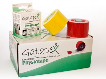 Gatapex Kinesiology Physiotape - Pack 12